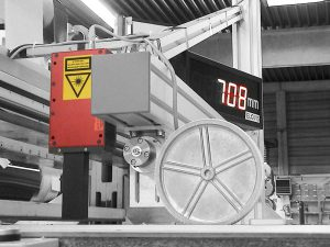 Eichfähige Längenmessung mit MID-COUNTER und Laser-Encoder sowie mit MID-COUNTER und Messrad-Encoder