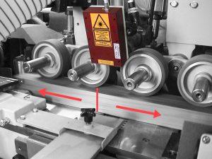Berührungslose Längenmessung mit Laser-Encoder